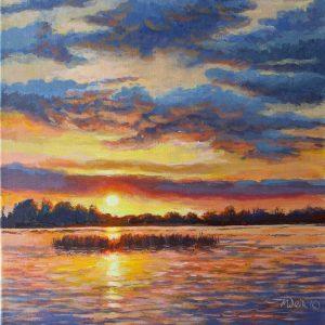 Donore Sunset, Lough Derravaragh