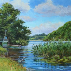 Lough Derravarragh near Crookedwood